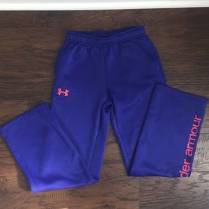 Girls Under Armour Jogging Pants